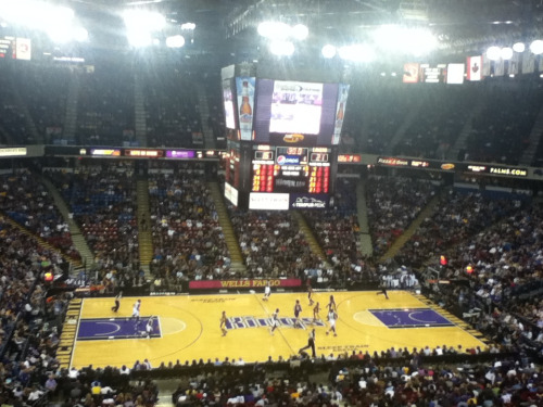 Kings win over the lakers!