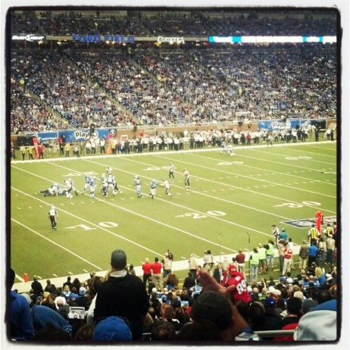 Go Lions!! #lions #detroit #thanksgiving