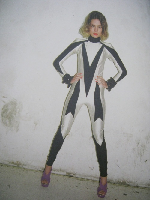 Always wanted a Pam Hogg jumpsuit, this one that was featured in Pigeons and Peacocks is lush!