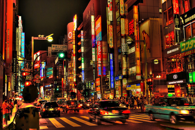 japanlove:  Shinjuku HDR by Arutemu on Flickr.
