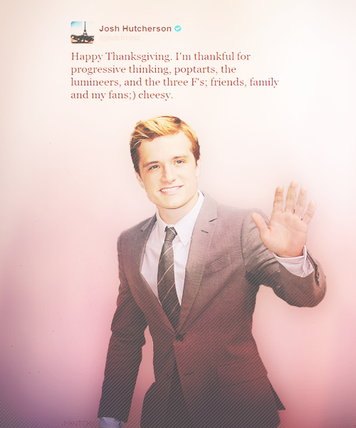 Happy Thanksgiving from Josh!