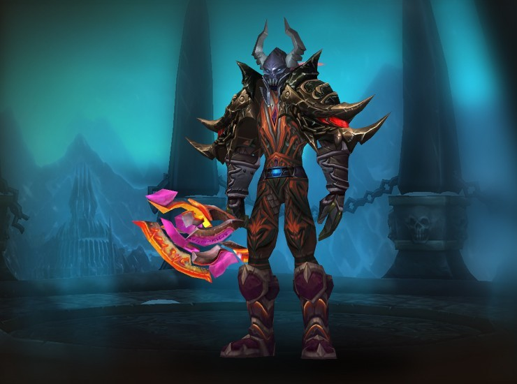 Alayeth Male Night Elf Death Knight US Nazgrel [Conqueror's Darkruned Helmet] [Valorous Scourgeborne Pauldrons] [Elementium Deathplate Breastplate] [Gigantiform Bracers] [Necrotic Boneplate Gauntlets] [The Plaguebringer's Girdle] [Elementium Deathplate Greaves] [Treads of the Past] [The Burning Crusader]