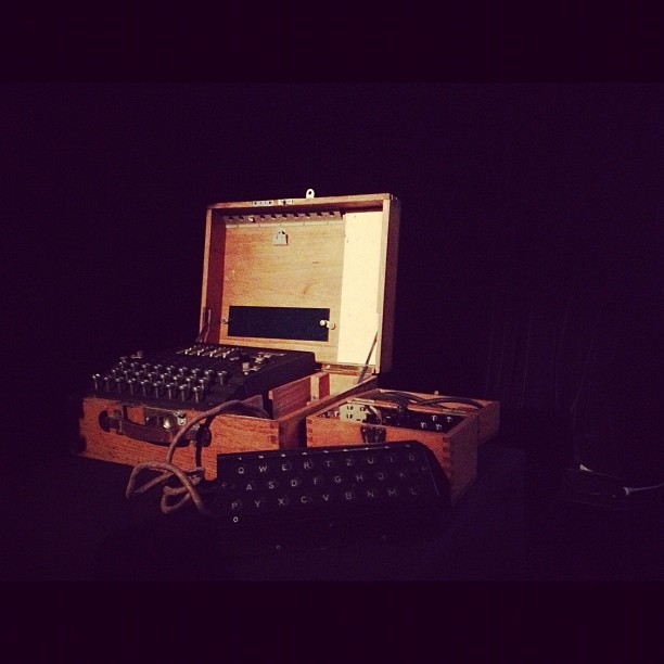 Still reeling from the Matmos show on friday. Getting to see this enigma machine IRL big bonus. Amazing.