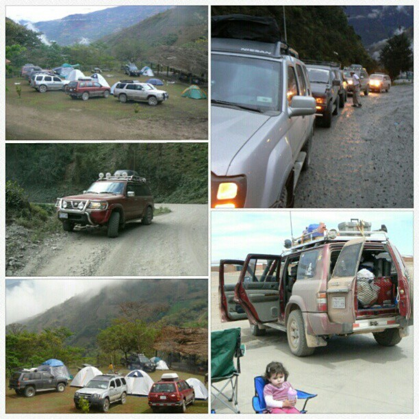 Off road en #Bolivia #4x4 #cars #travel #camping