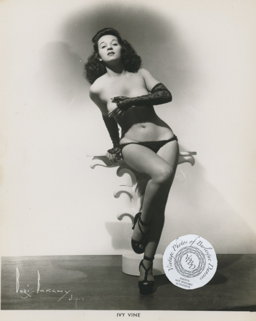 burlyqnell:  Ivy Vine: vintage 8x10 photo