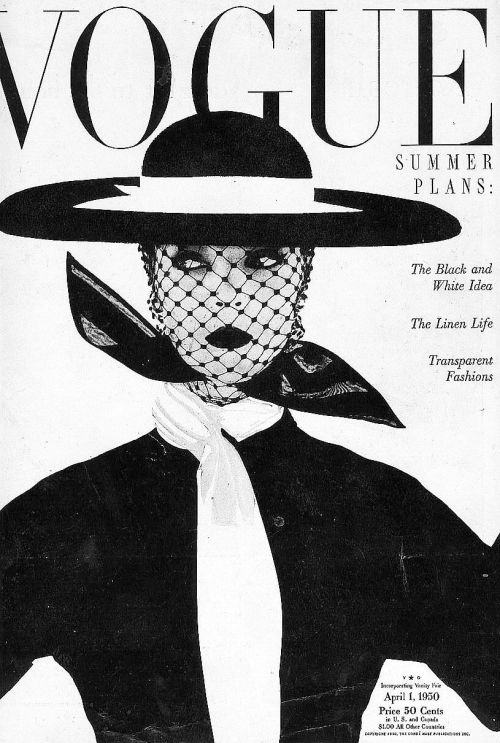 terrysmalloy:  Vogue Magazine, 1950.