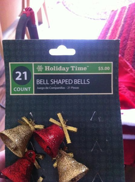 NOT JUST BELLS BELL SHAPED BELLS JESUS HELP ME THEY HAVE BELL SHAPED BELLS