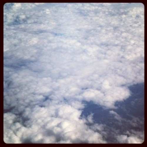 The clouds :)