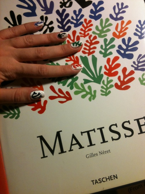 Base is Orly White Tips with Henri Matisse by Gilles Néret (Taschen)