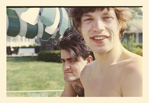 IAN STEWART et MICK JAGGER (Savannah, 1965) (Via only-september)   Ian Stewart & Mick Jagger, Savannah Ga. 1965