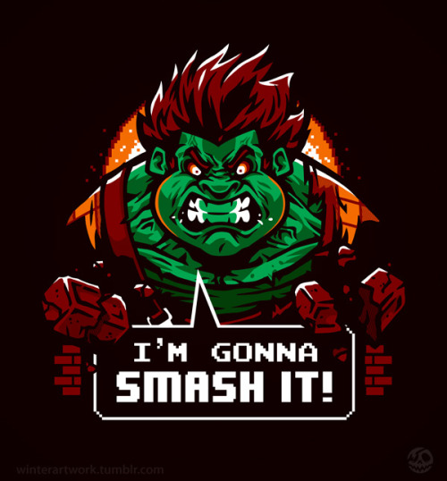 Gonna Smash It! Poster print HEREStore   •   Behance   •  Twitter   •   Facebook