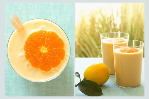 beautifulpicturesofhealthyfood:  Orange Smoothie…RECIPE