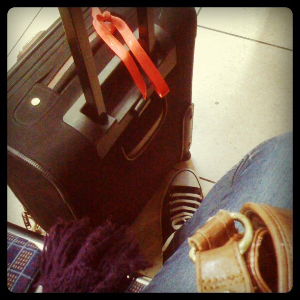 Going on holiday! (at Platform 1)