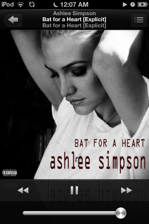 My Current Jam!! I Love Me Some Ashlee:)