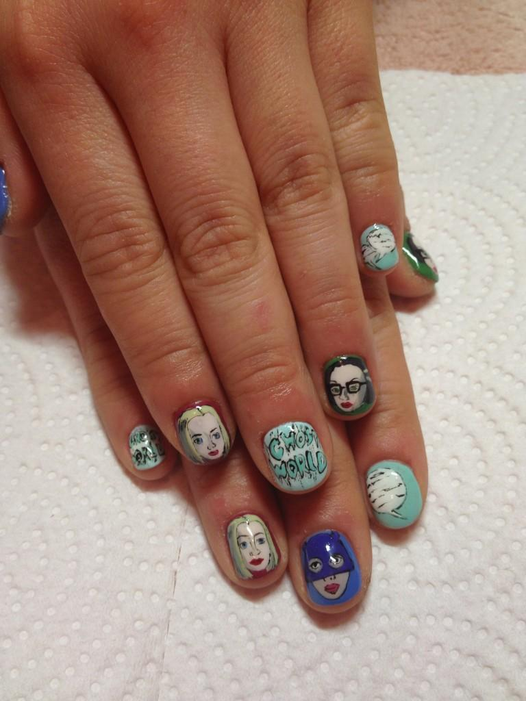 Best manicure ever! From @yuripides twitter.