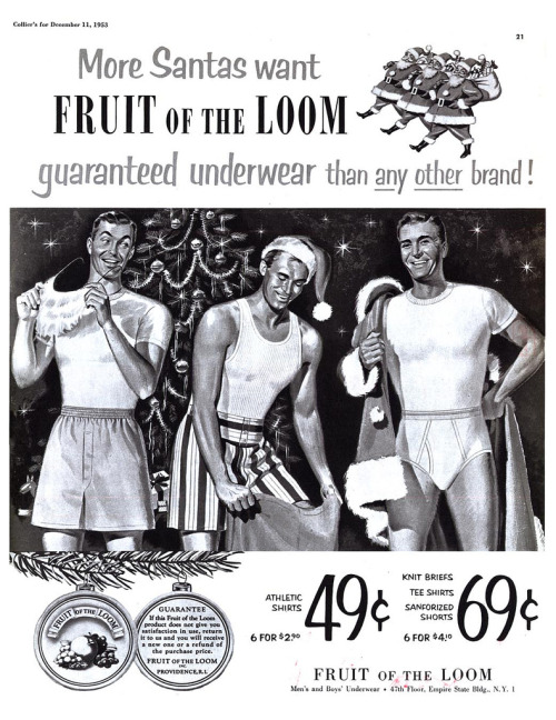 Fruit of the Loom - published in Collier's - December 11, 1953Credit: Today's Inspiration
