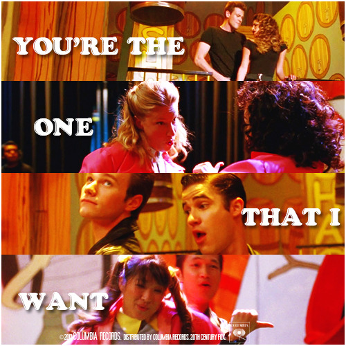 4x06 Glease | You're The One That I Want Requested Alternative Cover