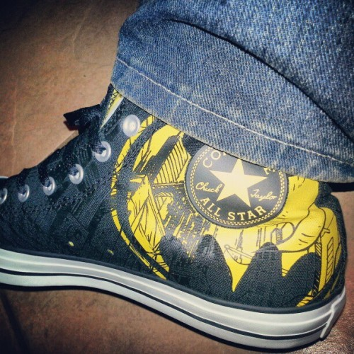 Went for the Batman Chucks instead XD