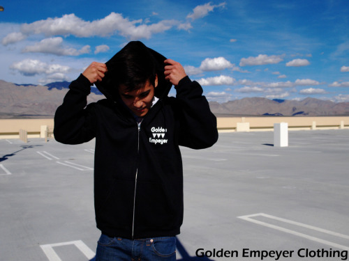 "A photo from my clothing line ""Golden Empeyer""  The following photos are modeled by team member Troy Pettie Modeling out winter apparel. Check out our Instagram: @goldenempeyerclothing"