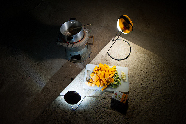 Load Shedding in Chipata on Flickr.A typical night in Chipata; it's standard for power to be out three or four nights a week in the town, usually when half way through cooking dinner. On these occasions it's time to fall back on the cook stove - all lit by my trusty S1 and SunKing Pro solar lights.