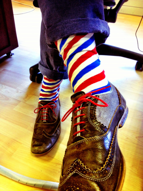 Mr @Marcperel #wearingNicSocks like a gent.