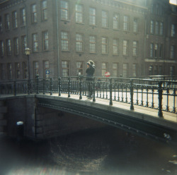 Amsterdam on Flickr.Amsterdam. Holga. Film 120CFN.