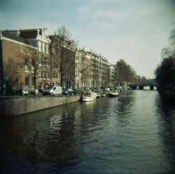 Amsterdam on Flickr.Amsterdam Film. Holga. 120CFN.