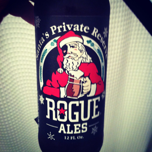 I don't get why Santa's so stingy with his shit. Santa Private Reserve from Rouge.