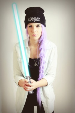 standingindreamworld:  May the force be with you!