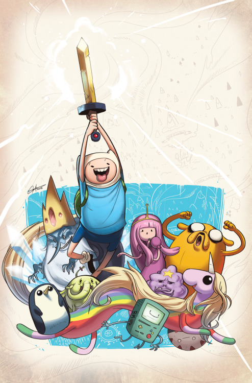lulubonanza:  Adventure Time #10 Cover by *tysonhesse