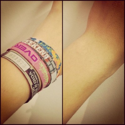 The end of an era, they had to go eventually. #leeds #leedsfestival #wristband#instagood #instagreat #jj_forums #instagramdaily #instafamous #igers #ipopyou  #iphonesia #webstagram #bestoftheday  #ahahahaCheah #igdaily #tweegram  #instamood #photooftheday #ignation #igaddict #primeshots #instadaily #instagram_underdogs