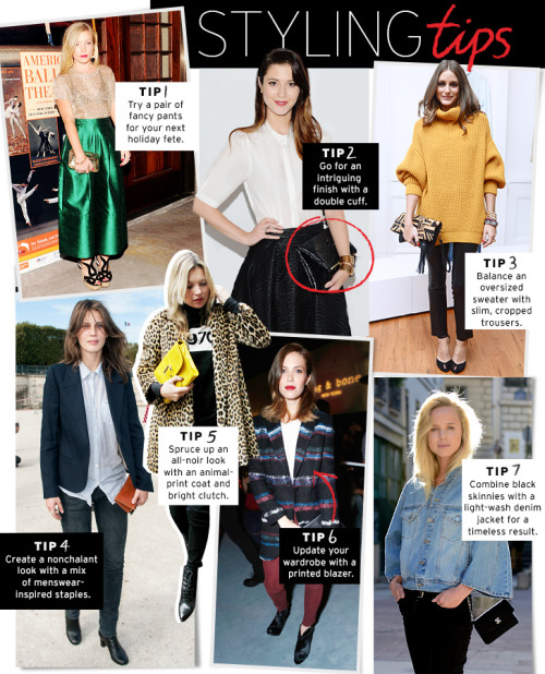 Great Fall styling tips!