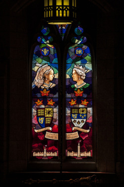 Vivat Regina Long live the Queen!A new stained glass window made to honour Queen Elizabeth II for her Diamond Jubilee of being our monarch. They only other monarch to reign this long was Queen Victoria. We liked her. :)© Pize, kick-start-my-kaleidoscope-heart