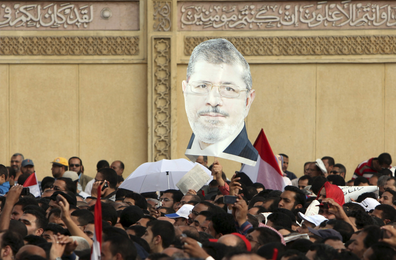 "Egyptian President Mohamed Mursi's decree exempting all his decisions from legal challenge until a new parliament was elected caused fury amongst his opponents on Friday who accused him of being the new Hosni Mubarak and hijacking the revolution. Thousands of chanting protesters packed Tahrir Square, the heart of the 2011 anti-Mubarak uprising, demanding Mursi quit and accusing him of launching a ""coup"". There were violent protests in Alexandria, Port Said and Suez. Mursi's aides said the presidential decree was to speed up a protracted transition that has been hindered by legal obstacles but Mursi's rivals were quick to condemn him as a new autocratic pharaoh who wanted to impose his Islamist vision on Egypt. READ ON: Egypt's Mursi called ""pharaoh"", violent protests erupt"