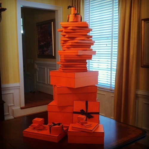 richkidsofinstagram:  #Hermes overload by tcuup #blackfriday   Must be rough.