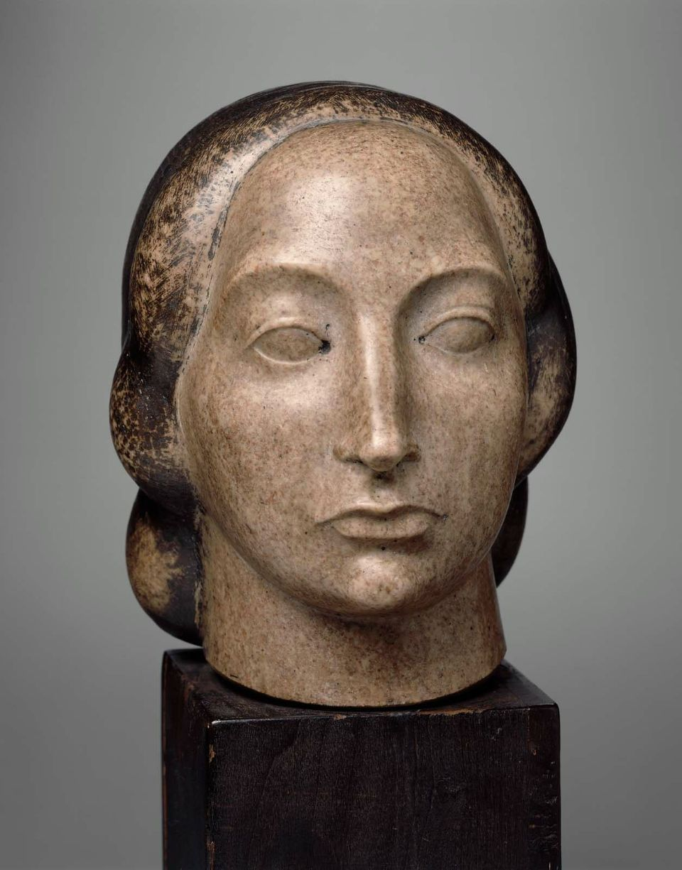 hismarmorealcalm:  Gaston Lachaise (1882 - 1935) Head of a Woman 1918
