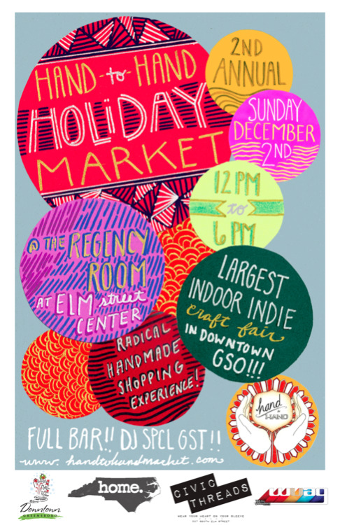 IT's THAT Time!!!!! HOLIDAY MARKET!!! SUN. DEC. 2 12-6PM!! Regency Room at Elm St. Center! FULL BAR!