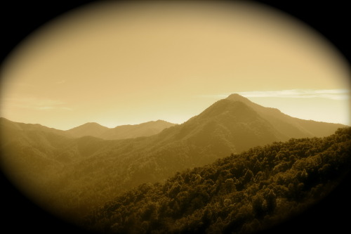 View of Big Sur, CA- all dolled up. :) Took pic on a hike yesterday.  <3 D