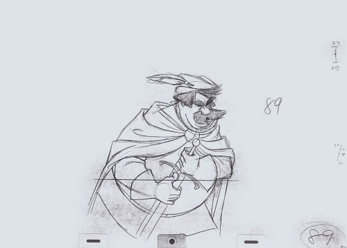animationtidbits:   Sword in the Stone - Milt Kahl