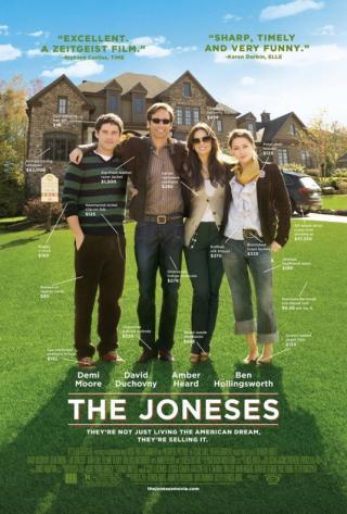 I am watching The Joneses                                      Check-in to               The Joneses on GetGlue.com