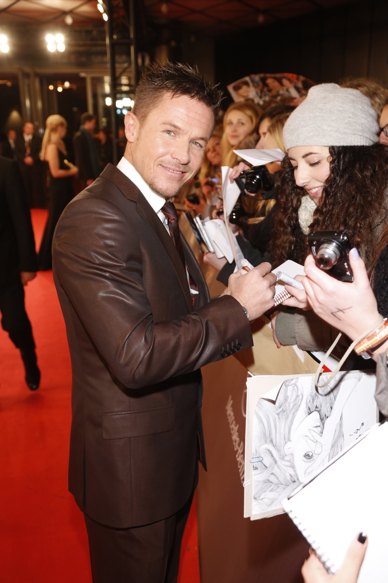 Felix Baumgartner on the red carpet for the BAMBI Awards // photo credit: Hubert Burda Media