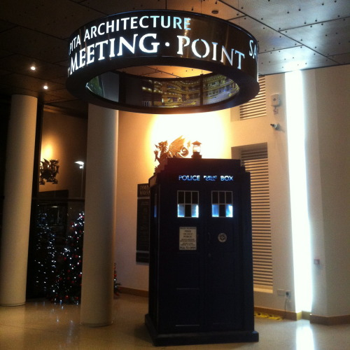TARDIS at WMC for BBC National Orchestra of Wales Open Weekend