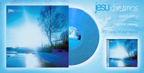 "Jesu's ""Christmas"" digital-only EP from 2010 gets a limited press of 500 copies for both vinyl and CD. Mastering by James Plotkin and a new remix by JK Flesh. Pre-order and more info here!"