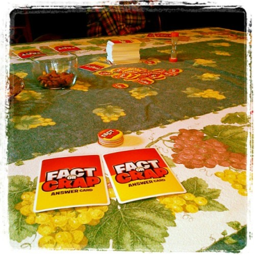 Fitch family Thanksgiving. Game on! #factorcrap (at New Gloucester, Maine)