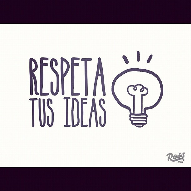 "Conferencia ""Respeta tus ideas"" chequenla en www.ross.mx #cool #creative #art #draw #sketch #sketchbook #ideas #instagood #ilustrations #mexico #mty #morelia #mextagram #happy #hi"
