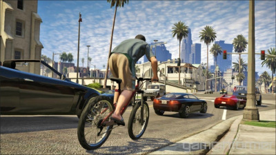 GTA V Rockstar Games has released the second GTA V trailer, revealing a little of the background behind the game's three main protagonists.  Last week we learned that, in a departure from previous titles in the series, Grand Theft Auto V will feature a trio of playable characters: Michael, Franklin and Trevor. This two-minute video shows a little of each: Michael is a family man who has left crime behind, but struggles with his offspring and wife (spoiler: he's getting back into illegal activities); Franklin is a young repo man shown here retrieving a sports car from a non-paying customer; and Trevor is a maniacal career criminal who engages in all kinds of violent craziness, burning down houses, dealing drugs and dishing out beatings.  Also shown is plenty of action, including car chases, a dirt bike race, shootouts, a train crash and aerial combat, plus a sequence where Trevor drives a jeep out of the back of a plane before bailing out. In other words, fairly standard stuff for a Grand Theft Auto game.  GTA V will go on sale in the spring of next year on Xbox 360 and PS3, and can be pre-ordered from the Rockstar Games site now.