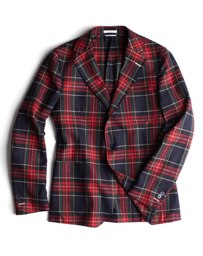 GQ Selects: Gant Rugger Tartan Plaid Blazer A sport coat is essential to every guy's wardrobe, young or old.