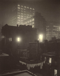 """From The Back Window"", 1915  By: ALFRED STIEGLITZ…."