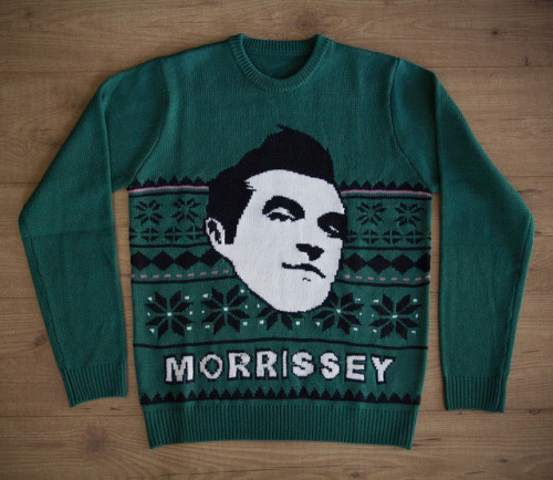 ITEM OF THE DAY: ITEM OF THE DAY: MORRISSEY JUMPERby Liza Baron http://bit.ly/TTQrf6