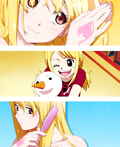 hitsuyo:  30 Days Fairy Tail Challenge!  Day 1: Favorite Character(s): Lucy Heartfilia